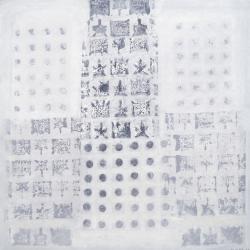 print pieces I, 2014ybr>800 x 800 mm Acryl auf Leinwand